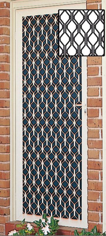 Decorative Diamond Door