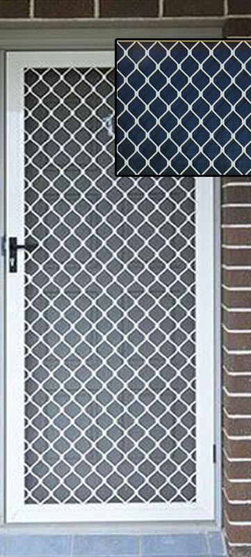 Single Diamond Door