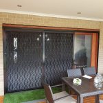 sliding security fly screen