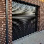 trasparent black roller shutter